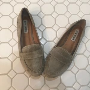 Women's Steve Madden suede loafers
